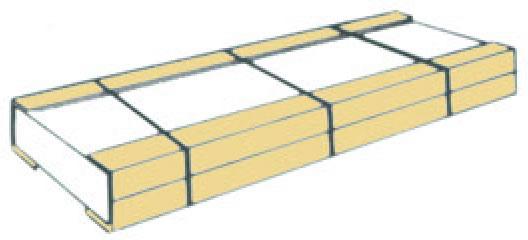 重量物梱包の保護・補強用エコアングル