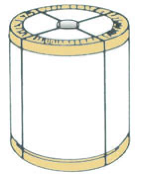 コイル状の側面保護用エコアングル